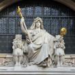 Statue of prudence — Stock Photo