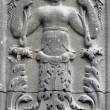 Stock Photo: Bas relief in south portal of church of St. Eustache, Paris