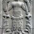 Bas relief in the south portal of the church of St. Eustache, Paris — Stock Photo