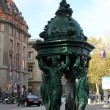 Wallace fountain, Paris — Stock Photo #18098547