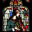 Angel, stained glass — Stock Photo #18099343