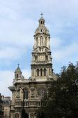 Heilige dreifaltigkeitskirche, paris — Stockfoto