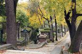 Pere Lachaise Cemetery Paris — Stock Photo