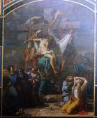 Deposición de la cruz — Foto de Stock