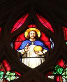 Jesús, vidrieras — Foto de Stock