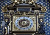 La torre del reloj, la conciergerie, parís — Foto de Stock