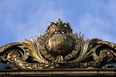 Adalet sarayı paris altın kapı detayı — Stok fotoğraf