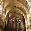 Pipe organ of the church of St. Séverin in Paris — Photo