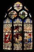 Döden av ludvig xiii i närvaro av saint-vincent-de-paul, anna av österrike, den framtida ludvig xiv och kardinal mazarin — Stockfoto
