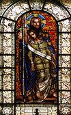 Savior, stained glass — Stock Photo