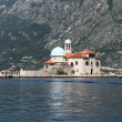 Church of Our Lady of the Rocks, Perast, Montenegro — Stock Photo