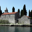 Church of St George, Perast, Bay of Kotor, Montenegro — Stock Photo