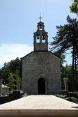 Ortodoxní soud církve v cetinje, černá hora — Stock fotografie