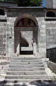 Orthodoxe kloster in cetinje, montenegro — Stockfoto