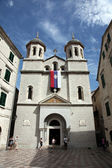 Iglesia de san nicolás en kotor. montenegro — Foto de Stock