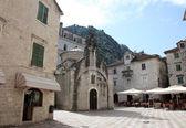 Church of Saint Luke in Kotor, Montenegro — Stock Photo
