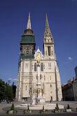 Kathedraal van zagreb — Stockfoto