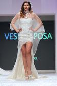 Wedding dress fashion show — Stock Photo