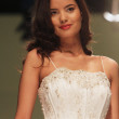 Wedding dress fashion show - Stock Photo