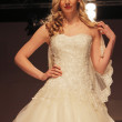 Wedding dress fashion show — Foto Stock
