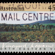 Stock Photo: Stamp printed in AUSTRALIshows North Eastern Vic, Vineyard Regions