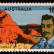 Stamp printed in Australia shows William Gosse — Stock Photo #27462217