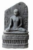 Buda en bhumisparsha mudra — Foto de Stock