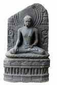 Buddha in Bhumisparsha mudra — Stock Photo