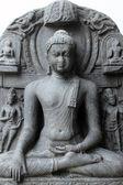 Boeddha in bhumisparsha mudra — Stockfoto