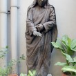 Statue of mother teresa in Mother house, Kolkata, India — Stock Photo #32055005