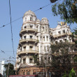 Stock Photo: Esplanade mansions, Kolkata, India