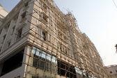 Bamboo scaffolding, Kolkata, India — Stock Photo