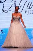 Suknia ślubna moda shaw — Zdjęcie stockowe