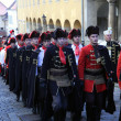 Stock Photo: Cravat Regiment at ceremony celebrating day tie