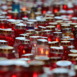 Zagreb cemetery Mirogoj on All Saints Day — Stock Photo