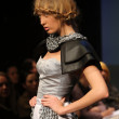 Fashion model wearing clothes designed by Anita Koturic on the Fashion Wardrobe show — Lizenzfreies Foto