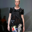 Fashion models wearing clothes designed by Ana Kujundzic on the Zagreb Fashion Week show — Lizenzfreies Foto