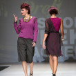 Fashion models wearing clothes designed by Iggy Popovic on the Zagreb Fashion Week show — Lizenzfreies Foto