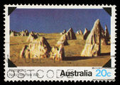Stamp printed in AUSTRALIA shows the Namburg, Western Australia — Stock Photo