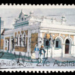 Stamp printed in AUSTRALIA shows the Historic Australian Post Offices, Kingston Southeast — Stock Photo