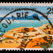Stamp sheet printed in AUSTRALIA shows the Broken Bay, New South Wales — Stock Photo #37551285