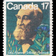 Stock Photo: Stamp prointed in Canada shows botanist John Macoun