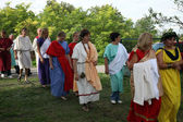 In Andautonija, ancient Roman settlement near Zagreb held Dionysus festivities — Stock Photo