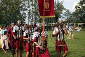 Dionysus festivities in Andautonija, ancient Roman settlement near Zagreb held — Stock Photo