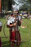 Dionysus festivities in Andautonija, ancient Roman settlement near Zagreb held — 图库照片
