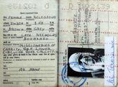 Pasaport anne teresa — Stok fotoğraf