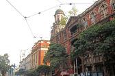 B.B.D. Bagh - the business center of Kolkata, India — Stock Photo