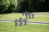 German Military Graves, Mirogoj graveyard in Zagreb - Croatia — Foto Stock