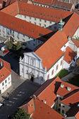 Church of the Saint Catherine of Alexandria in Zagreb, Croatia. — Stock Photo