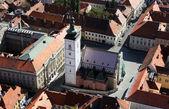St. Mark's Church in Zagreb, Croatia. — Stock Photo